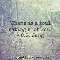 shame, as we heal, we can replace shame with compassion for ourselves and for what happened to us.