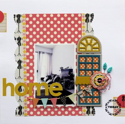 lily bee design blog, layout by Piradee Tlavanna (home - like the door embellishment):