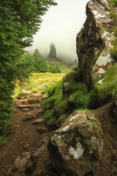 Mystical, Isle of Skye, Scotland: