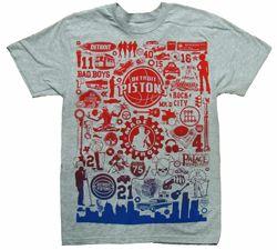 Made In Detroit T-shirt Grey - Men - - Palacelockerroomstore.com | Detroit Pistons