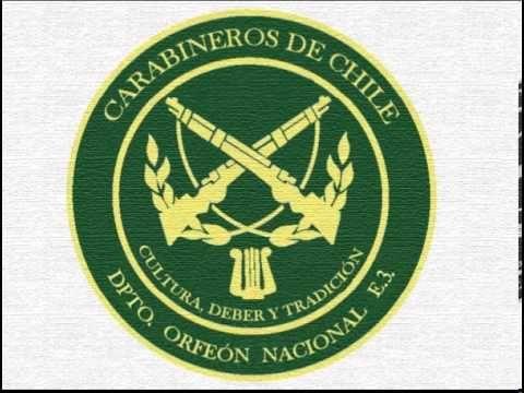 """German Military March - """"Deutschmeister-Regimentsmarsch"""" / Orfeón Nacional de Carbineros de Chile - Marcha """"Maestro Aleman"""""""