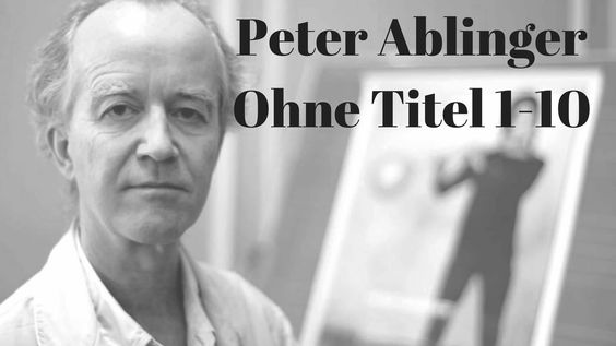 Peter Ablinger: Ohne Titel 1-10 violão/guitar