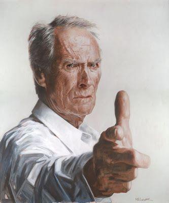 Clint Eastwood - Illustration