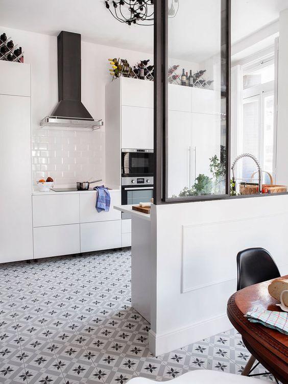 Estilos para tu cocina ¿cuál es el tuyo? | Mi casa revista | Baldosas Calvet Gris de Vives Cerámica