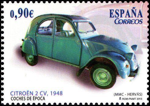 Coches De Epoca Citroen 2cv 1948 2013 2cv Citroen 2cv Voiture