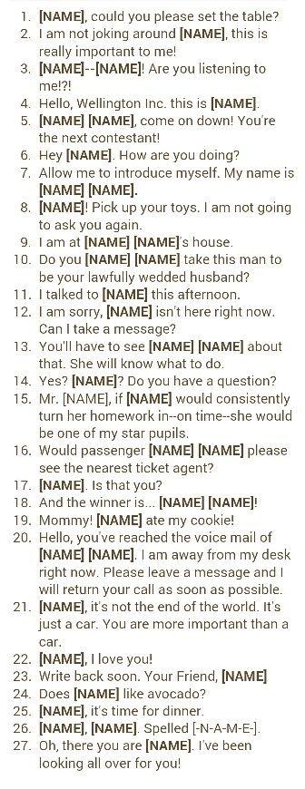 Baby name idea