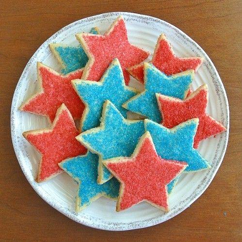 Stars Shortbread Cookies - Vegan in the Freezer