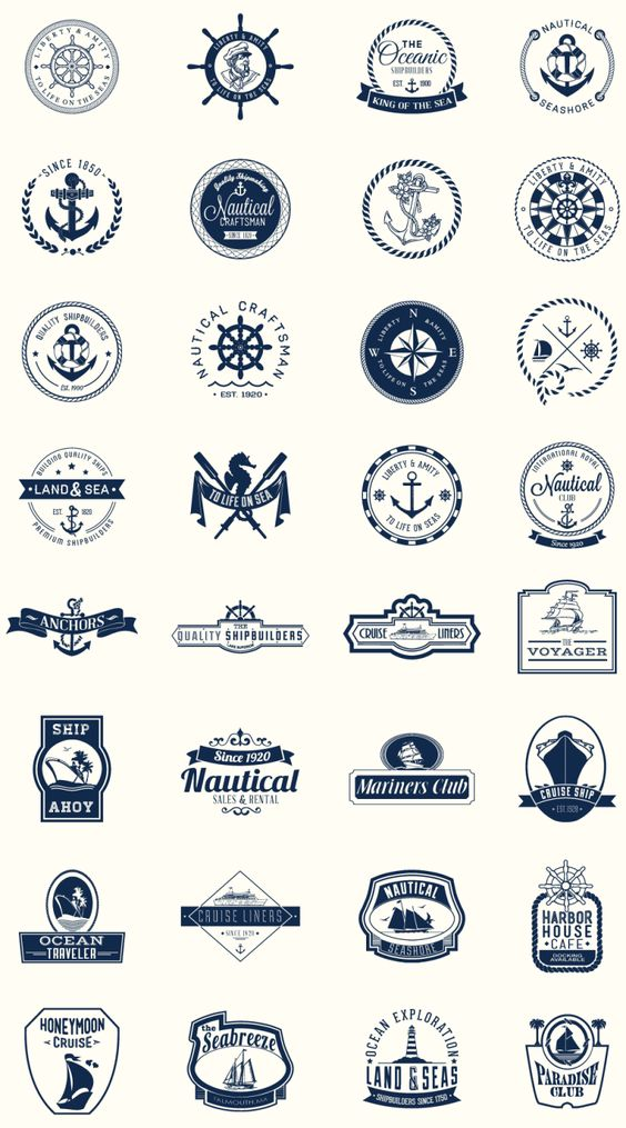 Freebie: Nautical Mega Pack - Daily Inspiration