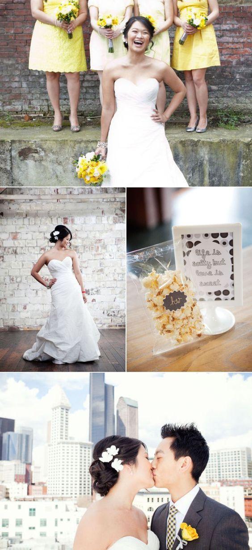 Seattle Wedding by Angela & Evan Photography | The Wedding Story