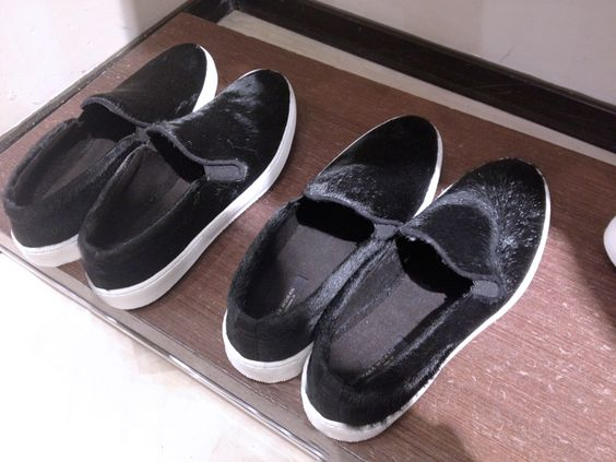 inspo - fur sneakers!