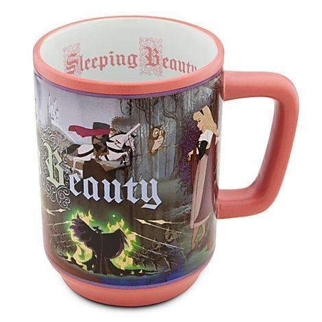 Sleeping Beauty Mug | Drinkware | Disney Store | $12.50 ...