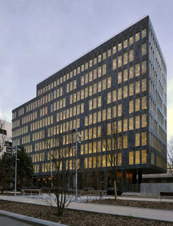 Oab Ferrater Edificio De Oficinas En Boulogne Billancourt Par S Facades Panneaux