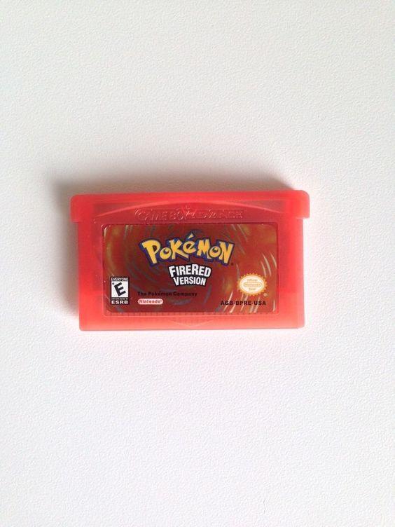 Pokemon Firered Version Nintendo Game Boy Advance 2005 GBA USA English Cartridge
