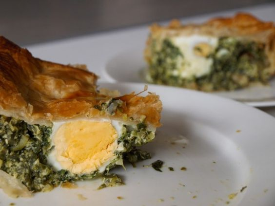 Uruguayan Pascualina - Spinach, Egg, Ricotta Pie