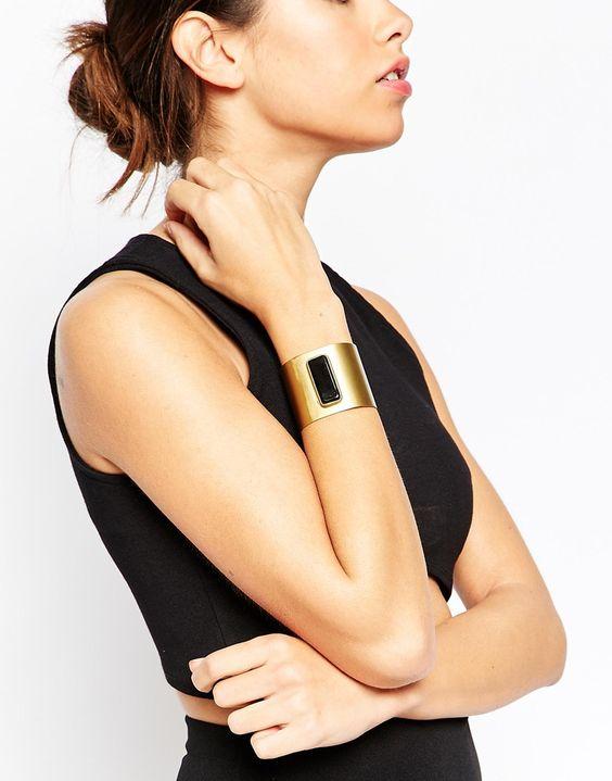 Image 3 - ASOS - Bracelet à barres et pierre