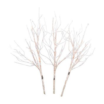 Shop Joss & Main for your 3-Piece Faux Birch Set. Features:Seasonal: WinterColor: White3 StemProduct Type: BranchSeasonal Theme: YesSize: SmallFlower: Dimensions:Overall Height - Top to Bottom: 16Overall Width - Side to Side: 16Overall Depth - Front to Back: 4Overall Product Weight: 3.