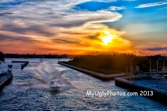 Sunset Boating – Boynton Beach Inlet