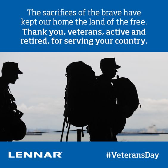 Happy #VeteransDay and thank you to all men and women for your service.