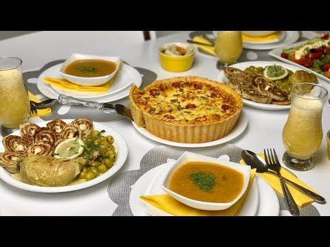 آخر طاولة افطار معكم كلام من القلب لكم Youtube Breakfast Food French Toast