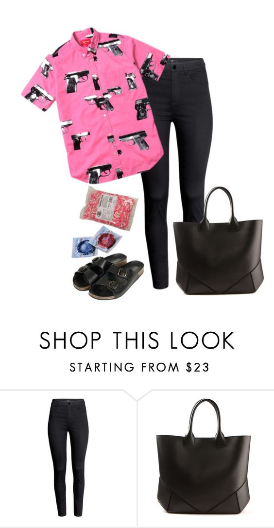 """""""."""" by lamecara ❤ liked on Polyvore featuring H&M, Givenchy, Topshop, Hipster, Random and sandals"""