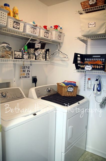 Laundry Room Organization Small Room Smaller Budget Tips And Ideas On Decorating A Laundry