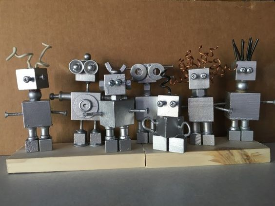 STEAM Project Recipes: Insta-Robots and Sewing Art | School Library Journal