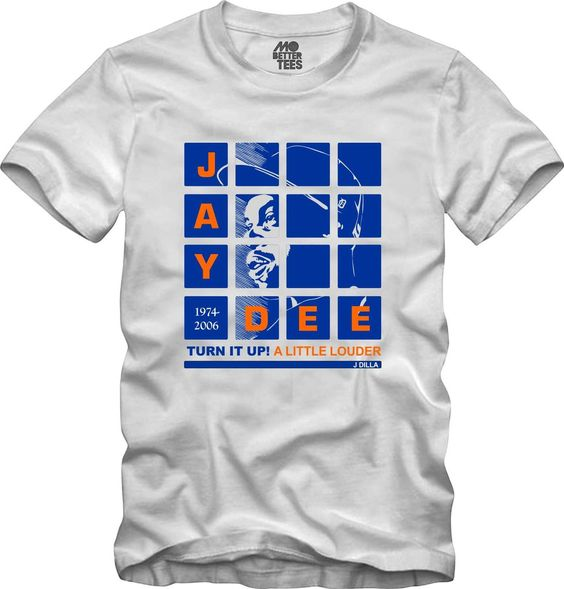 J Dilla MPC Pads Portrait T-Shirt Graphic Tee Hip-Hop turn it up!, Jay Dee, Madlib, Stones Throw, danger doom