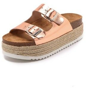 Jeffrey Campbell Aurelia Platform Espadrille Sandals on shopstyle.com