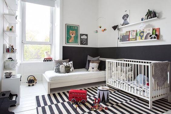 Pintar Las Paredes Del Dormitorio De Los Niños Es La Nueva
