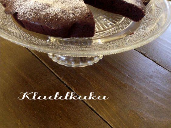KladdKaka, torta al cioccolato svedese
