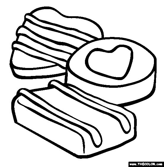 online valentine coloring pages - photo#30