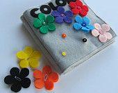 COLORS Fabric Quiet Book