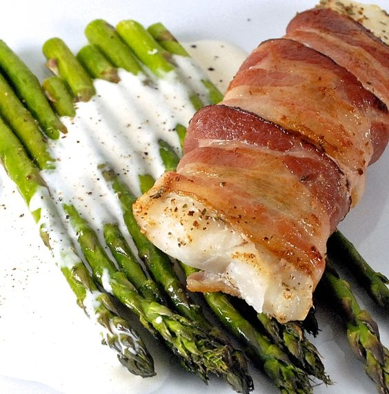 Pinterest the world s catalog of ideas for Bacon wrapped fish