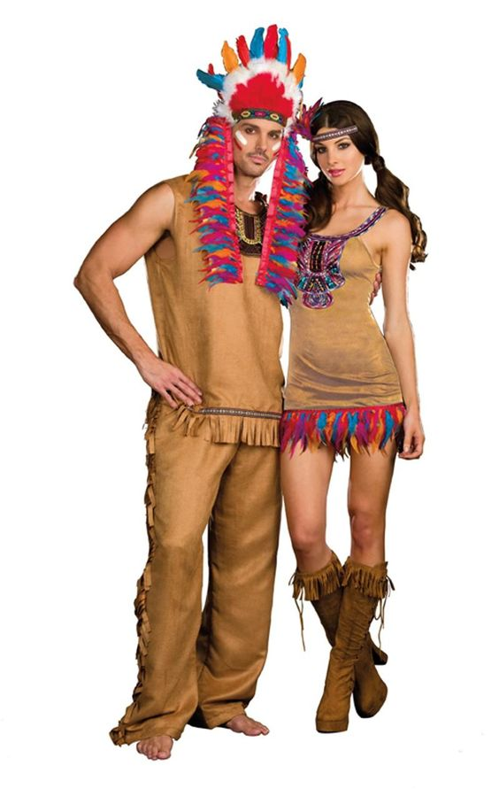 Indian Couples Costumes, now at teezerscostumes Please note - best halloween costume ideas for couples
