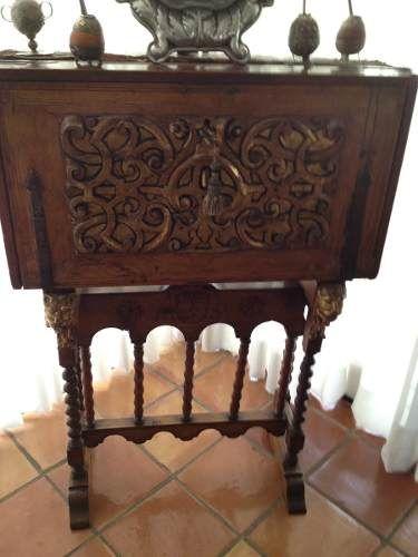 Bargue o antig o s xviii 7 usd mexico muebles - Muebles rusticos mexicanos ...