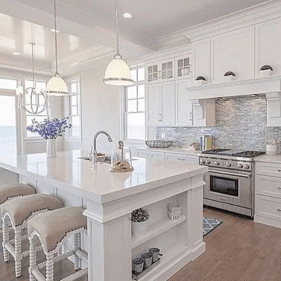 36 Stunning Beautiful Kitchen Design Ideas With Luxury Look