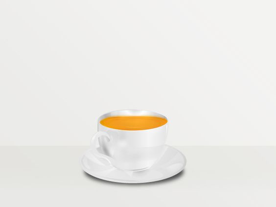 Tea cup Vector  illustration Beno Ramirez