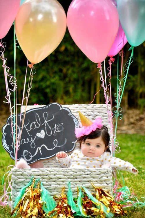 Half Birthday Party Ideas Half Birthday Baby Half Birthday Half Birthday Party