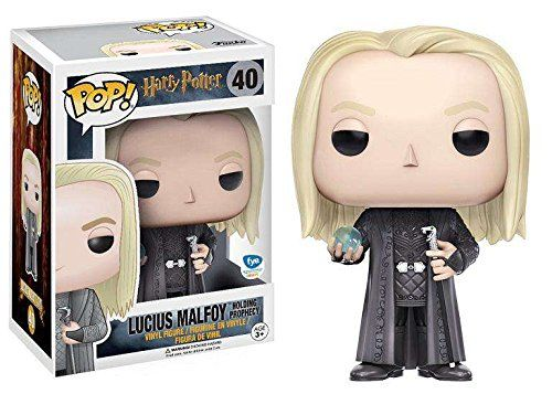 40 Lucius Malfoy Holding Prophesy Funko Pop