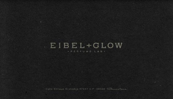 EIBEL & GLOW [ Brand indentity ] by Oriol Gil, via Behance