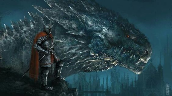 Aegon the Conqueror & Balerion by Xia Taptara.