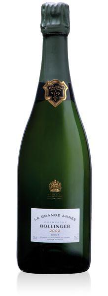 Wine & Spirits: Bollinger La Grand Année 2002 - GF Luxury