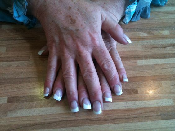 Brisa Gel Tip and Overlay for my lovely mum. First set with Brisa
