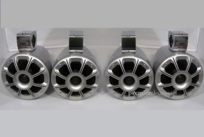 Wakeboard tower speakers for the boat.