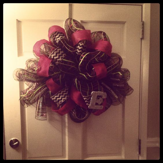 Bling bling wreath!!!