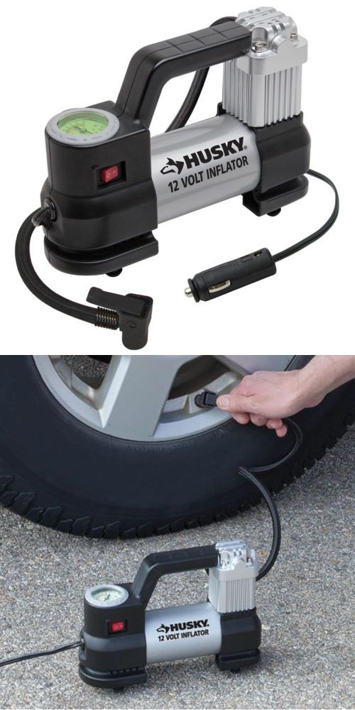 Air Compressors 30506 Portable Air Compressor Husky 12v Electric Pump Motorcycle Car Tire Inflator New Buy Inflators Air Compressor Portable Air Compressor