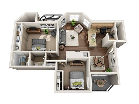 Barton Creek Landing Apartment Rentals Austin Tx Zillow Austin Apartment One Bedroom Apartment House Layout Plans