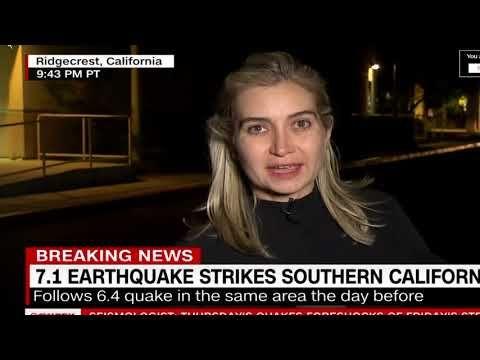 Late Breaking News 7 Quakes Rocks California Youtube Breaking News California Major Earthquakes