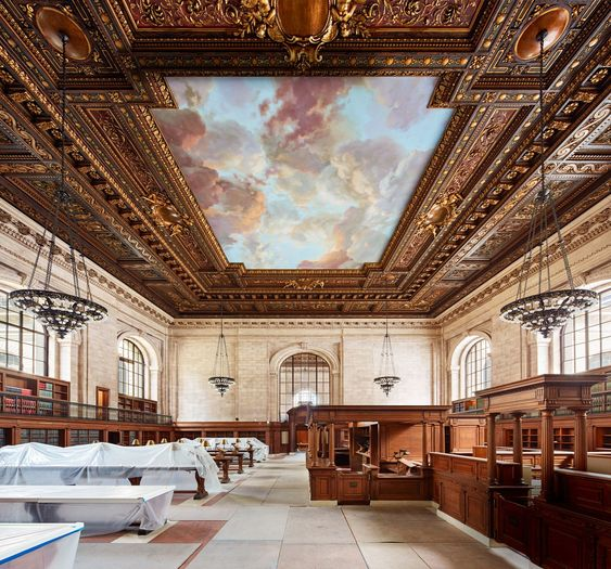 The New York Public Librarys Beloved Rose Main Reading Room to Reopen Wednesday - Architectural Digest