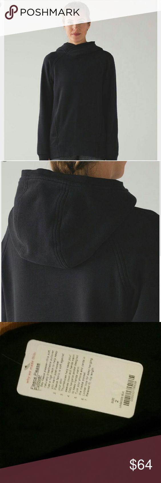LULULEMON Fleece Please Pullover Hoodie NWT NWT